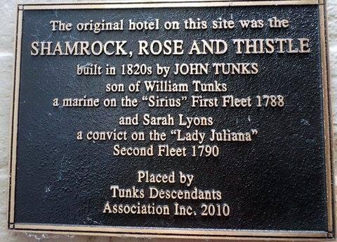 Shamrock, Rose and Thistle