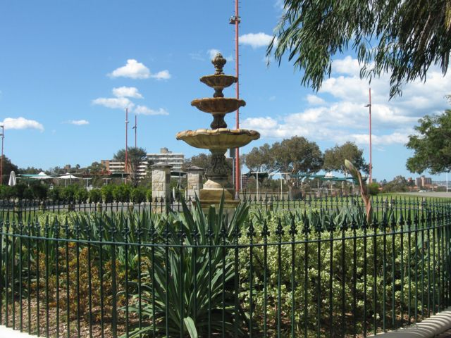 William Tunks Memorial Fountain