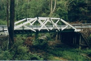Bridge over Tunks Creek