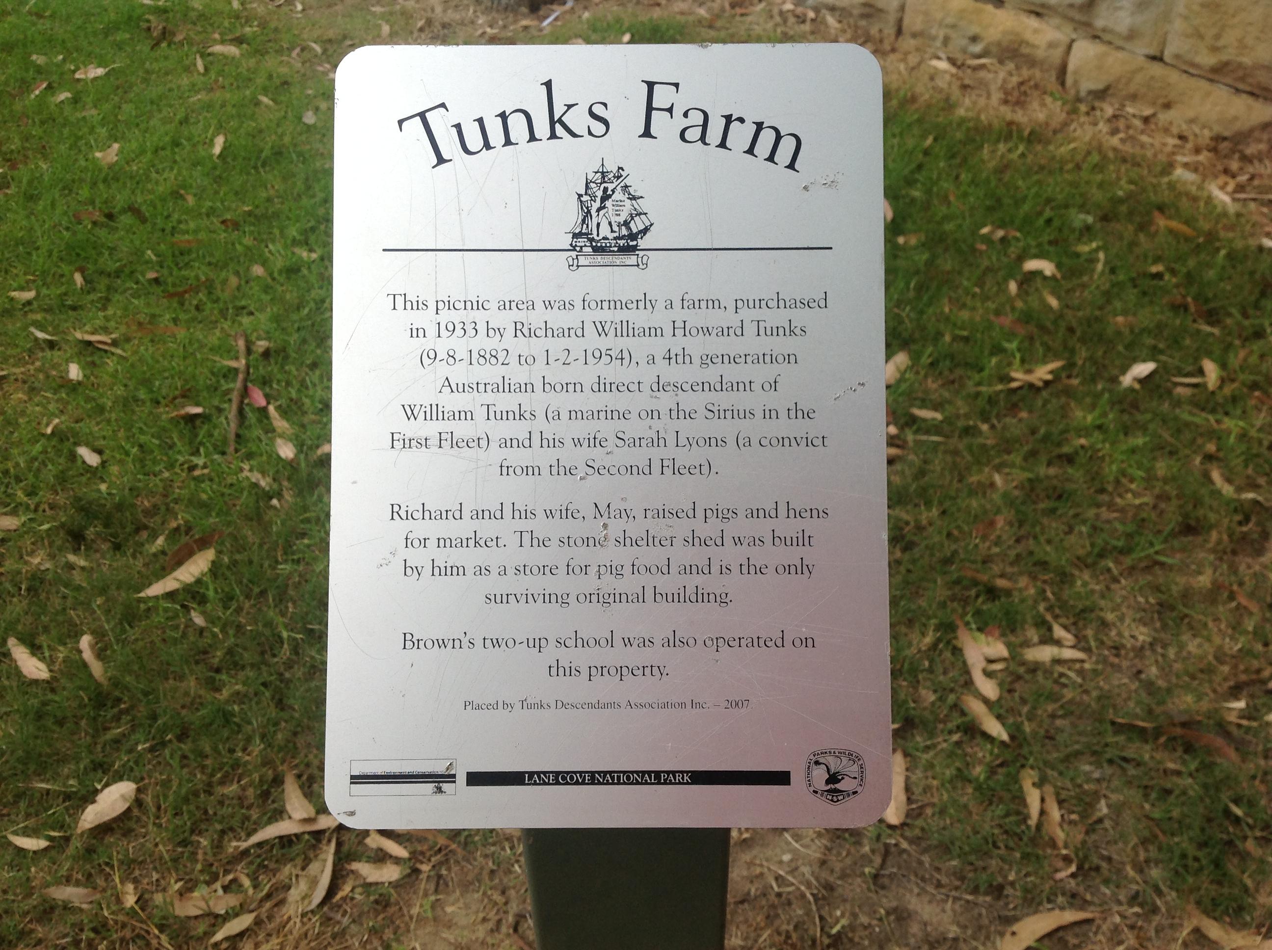 Tunks Farm