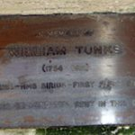 William Tunks Plaque