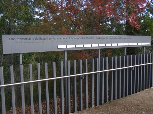 Warragamba Dam Workers Memorial