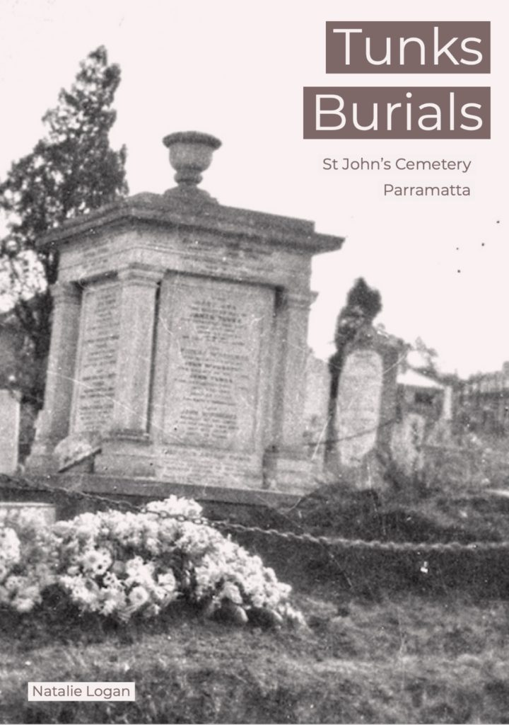 Tunks Burials St John's Cemetery